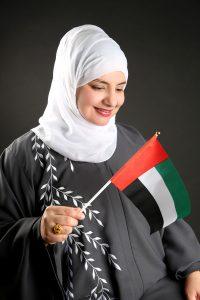 Mona AlHebsi UAE National Day 2020